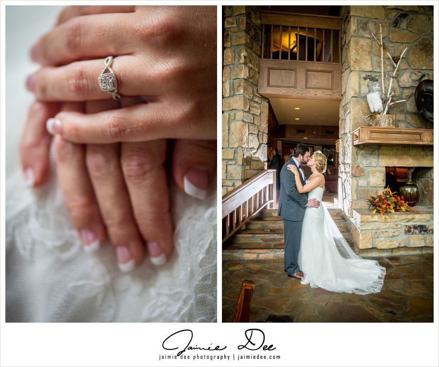 the ridges resort and marina wedding