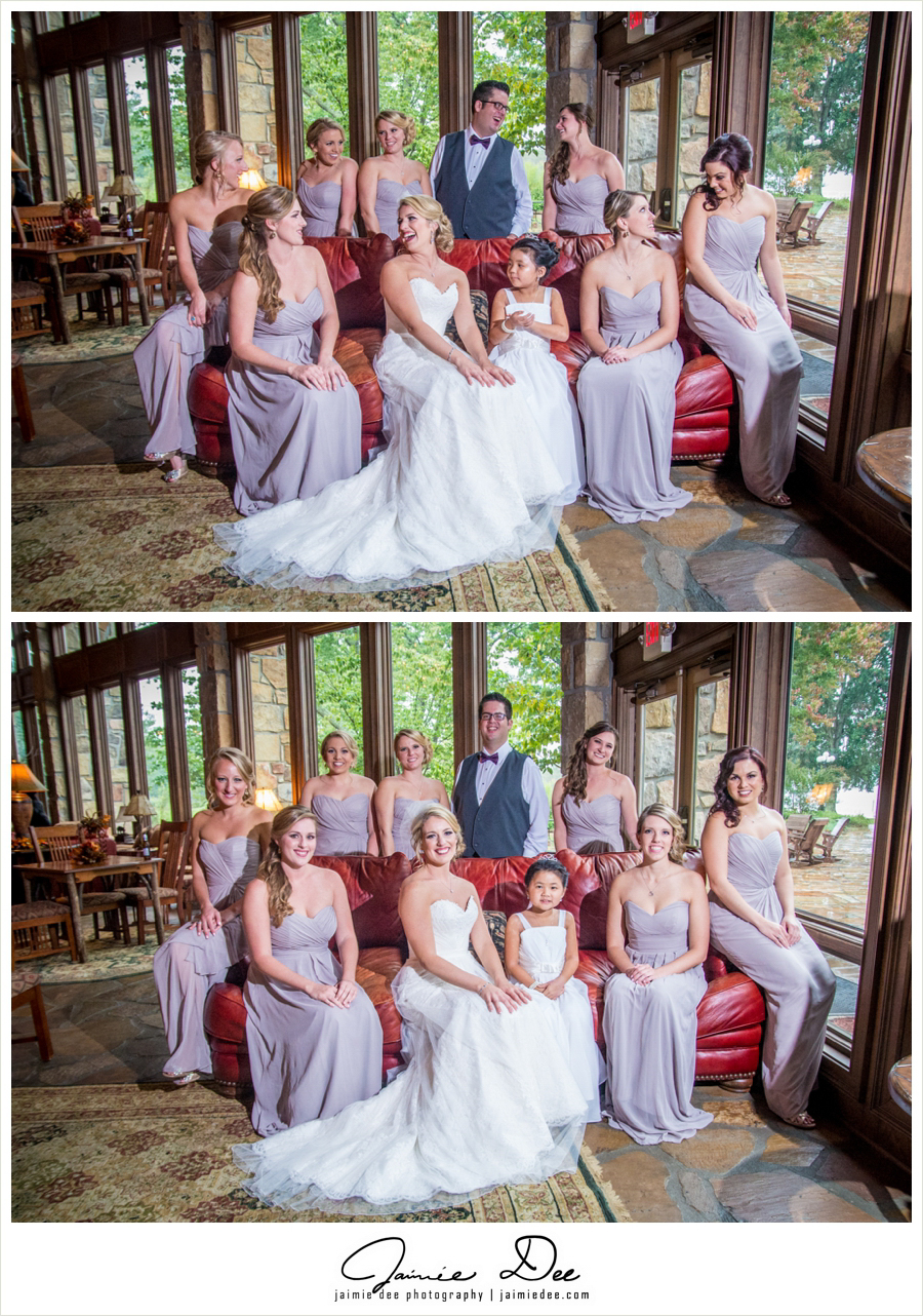the ridges resort and marina wedding