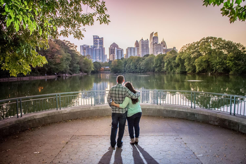 Piedmont Park Engagement Photos - Atlanta Wedding Photographers