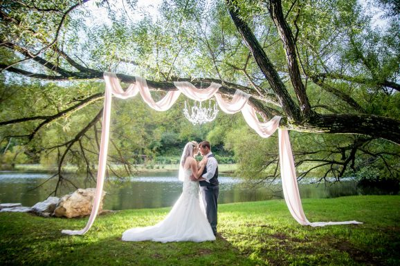 Willow Creek Falls and Vineyard Wedding | Atlanta Wedding Photographer