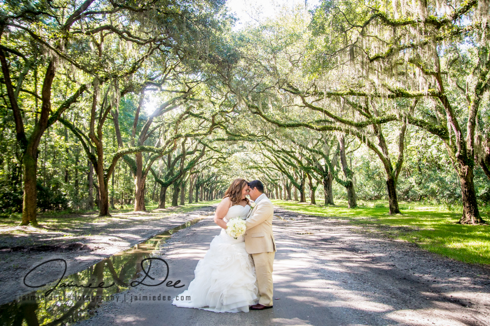 wormsloe plantation wedding pictures